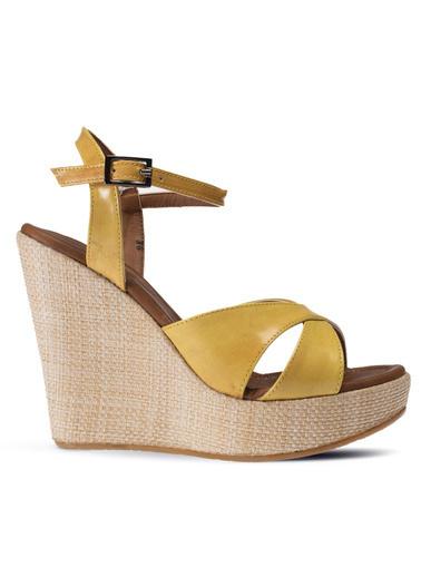 Deery Sandalet Sarı